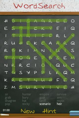 WordSearch Unlimited Free - Imagem 2 do software