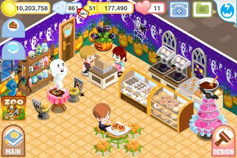 Bakery Story: Halloween - Imagem 1 do software