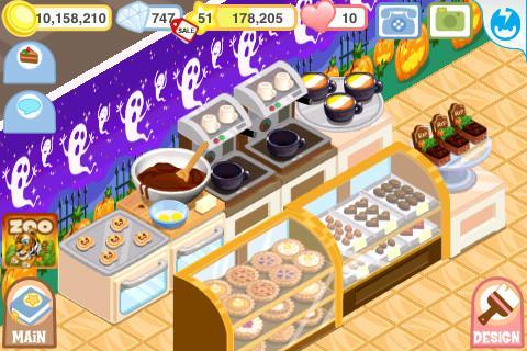 Bakery Story: Halloween - Imagem 2 do software