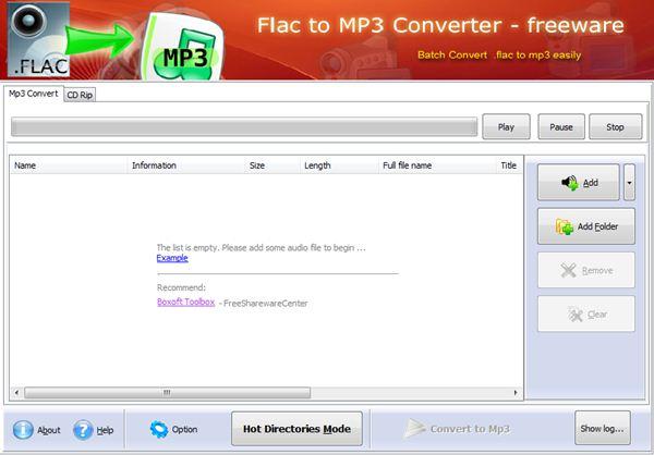 convert flac to mp3 free