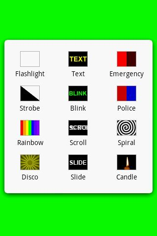 Color Flashlight - Imagem 2 do software