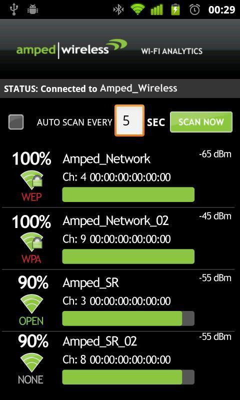 Wi-Fi Analytics Tool - Imagem 1 do software