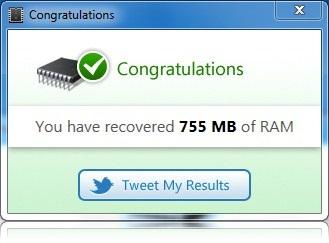 Memory Optimizer Pro - Imagem 3 do software