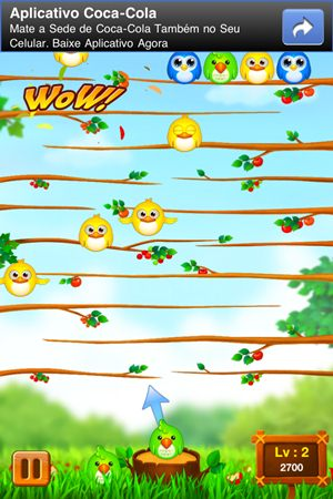Fly Bird HD - Imagem 3 do software