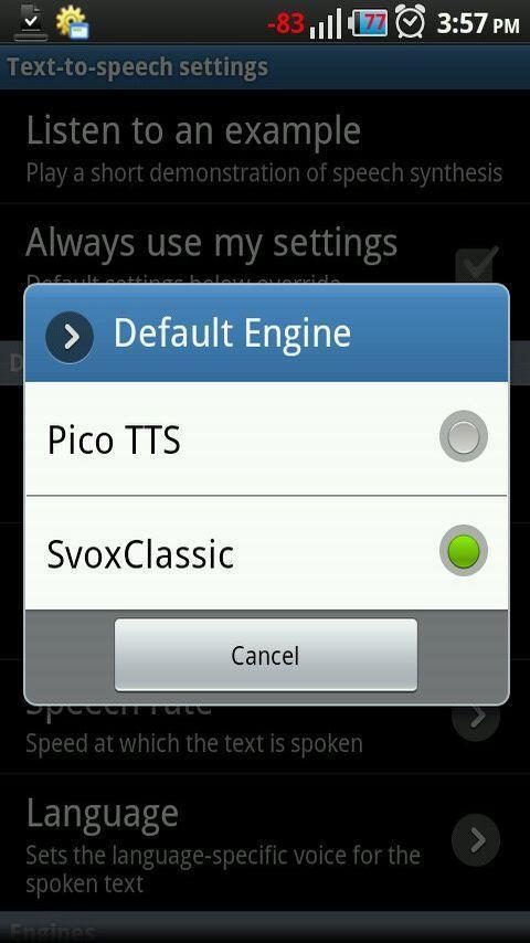 Classic Text To Speech Engine - Imagem 2 do software