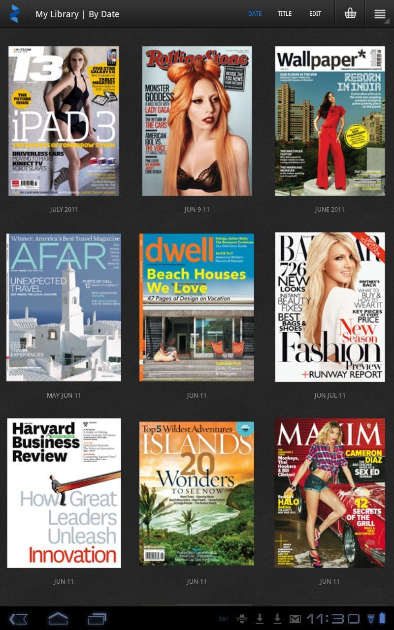 Zinio Magazine Reader - Imagem 2 do software