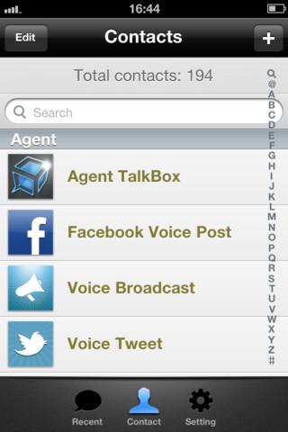 TalkBox Voice Messenger - Imagem 1 do software