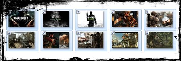 Call of Duty: Windows 7 Theme - Imagem 1 do software