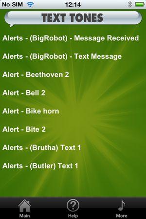 Free Text Tones - Imagem 1 do software