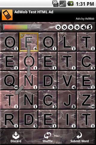 Dropwords - Imagem 2 do software