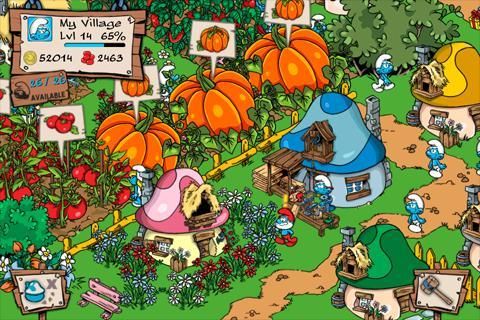 Smurfs` Village - Imagem 2 do software