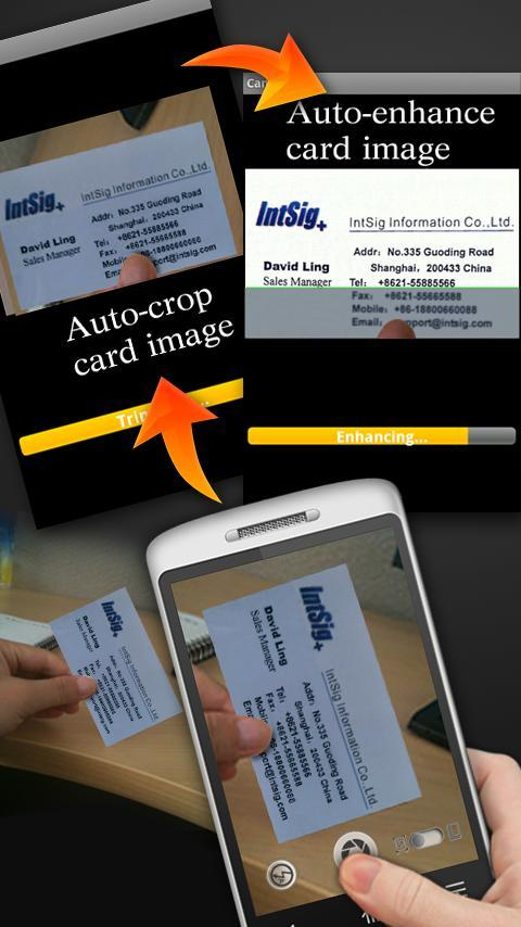 CamCard Lite - Business Card R - Imagem 1 do software