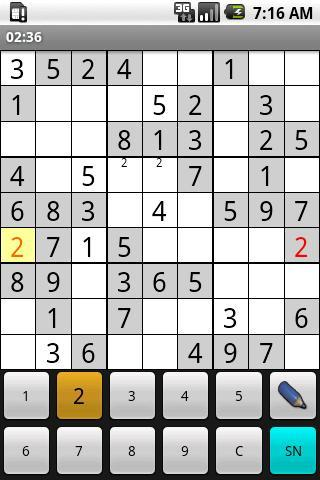 OpenSudoku - Imagem 2 do software