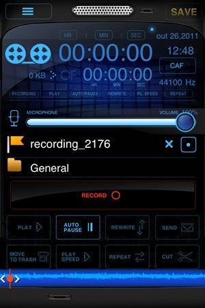 Mega Recorder+ - Imagem 1 do software