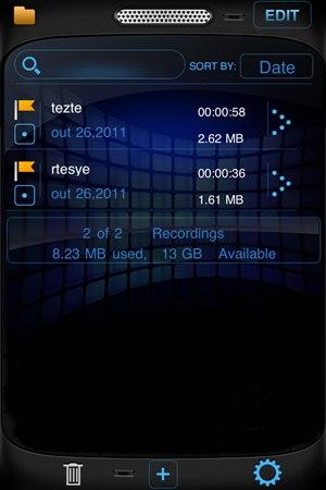 Mega Recorder+ - Imagem 3 do software
