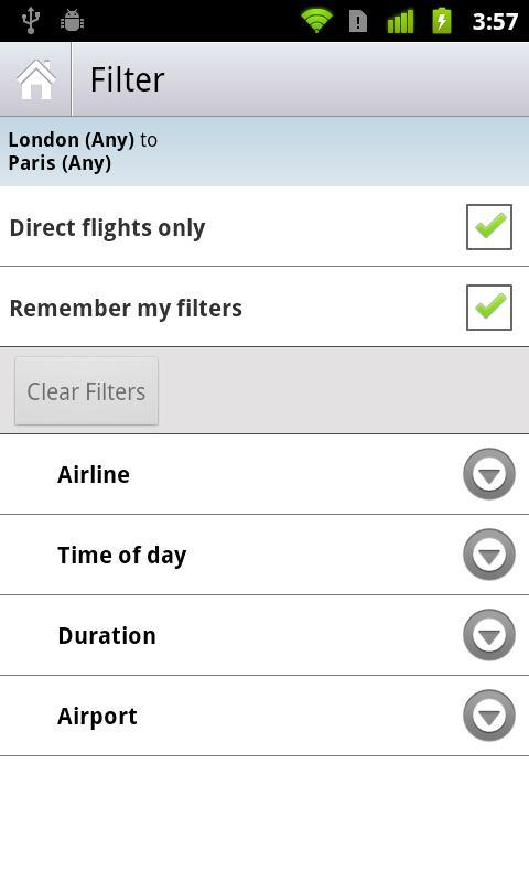 Skyscanner - Imagem 4 do software