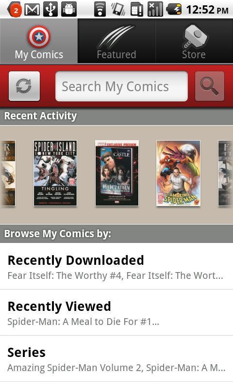Marvel Comics - Imagem 4 do software