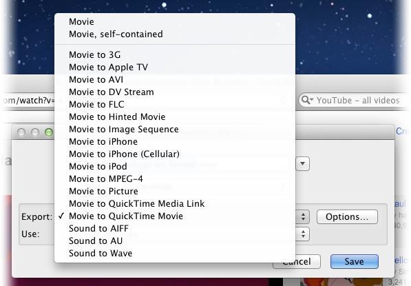 Escolha um formato para converter o arquivo