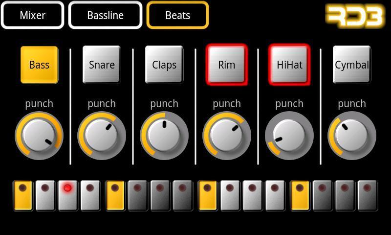 RD3 Demo - Groovebox - Imagem 1 do software