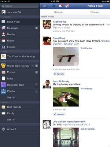 Facebook for iPhone - Imagem 3 do software