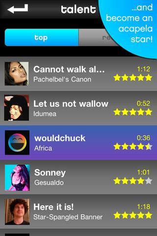 Talkapella - Imagem 2 do software