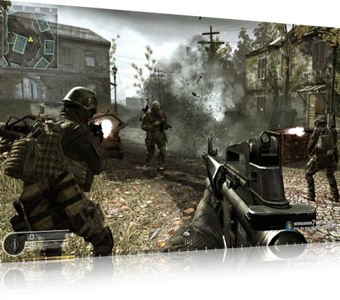 Call of Duty: Windows 7 Theme.