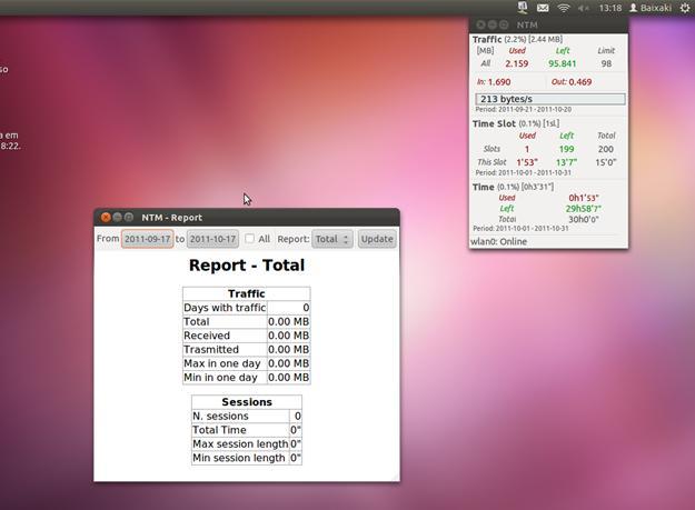 NTM - Network Traffic Monitor - Imagem 2 do software
