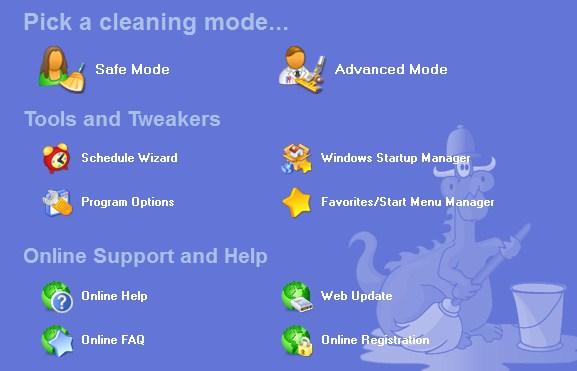 Zappit System Cleaner - Imagem 1 do software