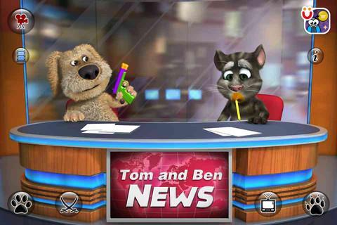 Talking Tom & Ben News - Imagem 1 do software