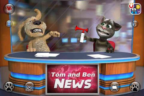 Talking Tom & Ben News - Imagem 2 do software