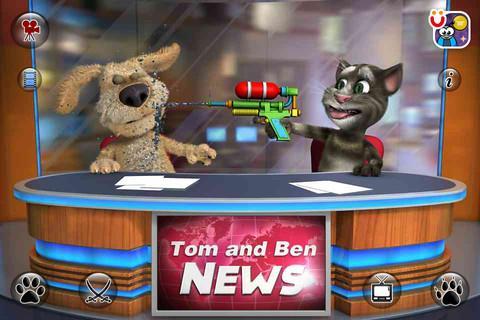 Talking Tom & Ben News - Imagem 3 do software