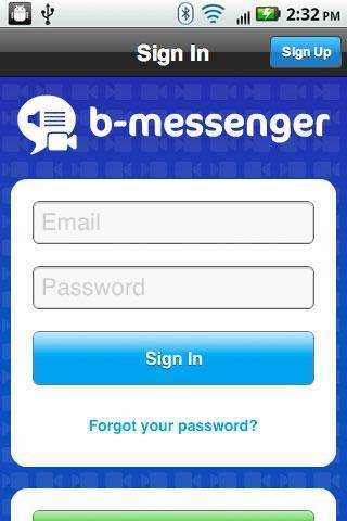 B-Messenger Lite - Imagem 1 do software