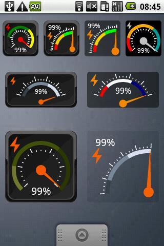 Gauge Battery Widget - Imagem 1 do software