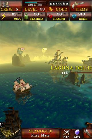 Pirates of the Caribbean: Master of the Seas - Imagem 1 do software
