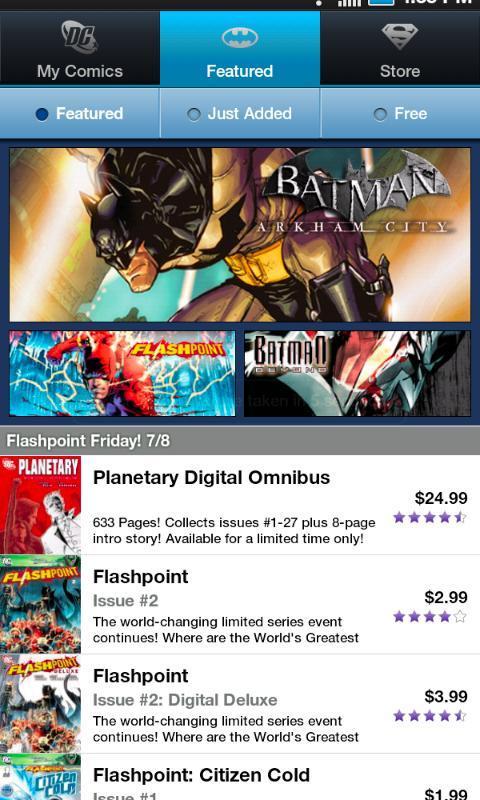DC Comics - Imagem 1 do software
