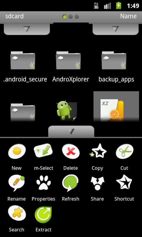 AndroXplorer - File Manager - Imagem 2 do software
