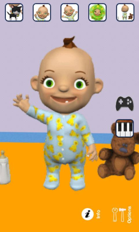 Talking Babsy Baby - Imagem 1 do software