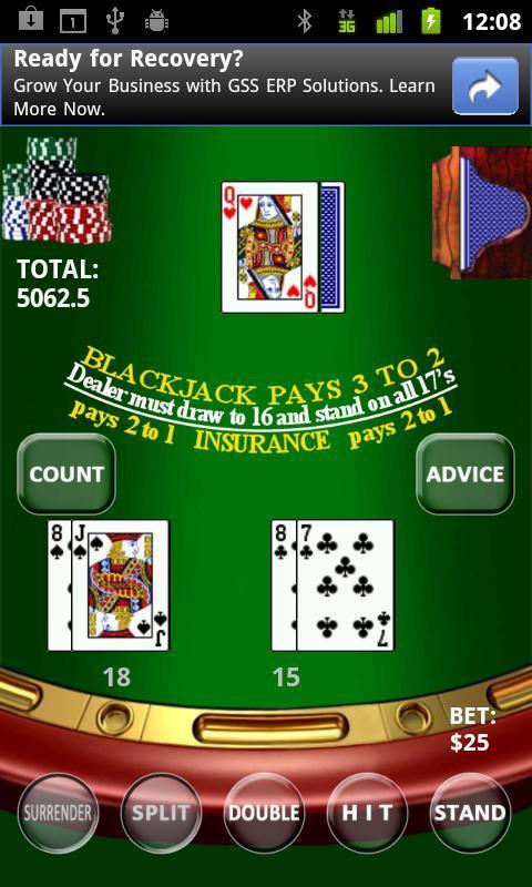 Real BlackJack - Imagem 1 do software