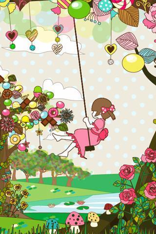 sweet tree LiveWallpaper Free - Imagem 1 do software