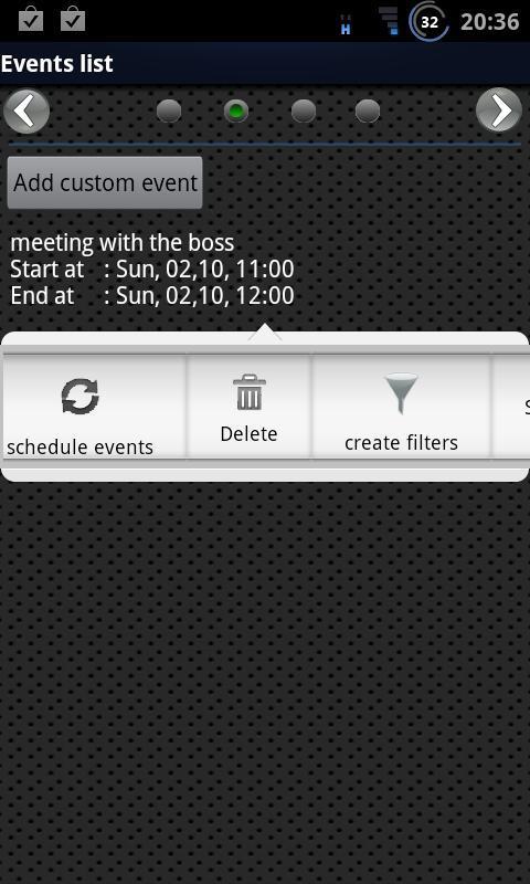 Calendar Silencer - Imagem 1 do software