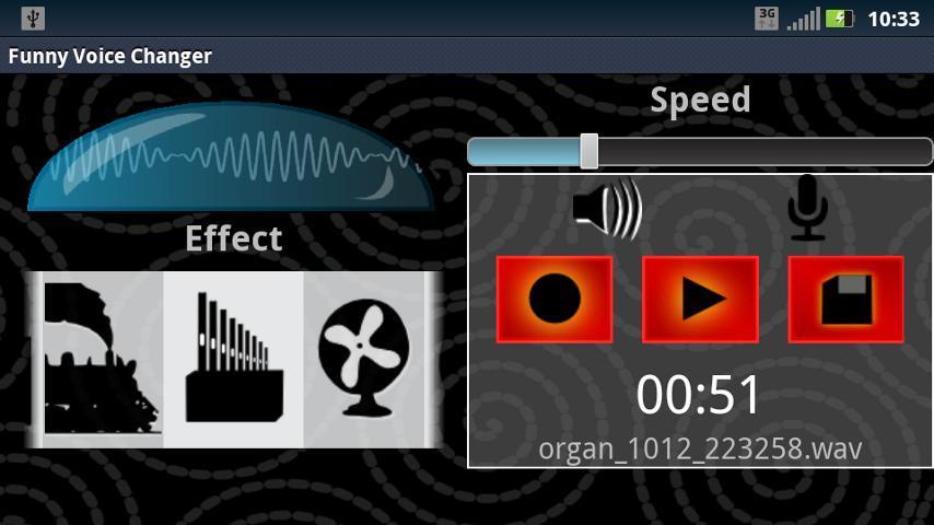Funny Voice Changer - Imagem 1 do software