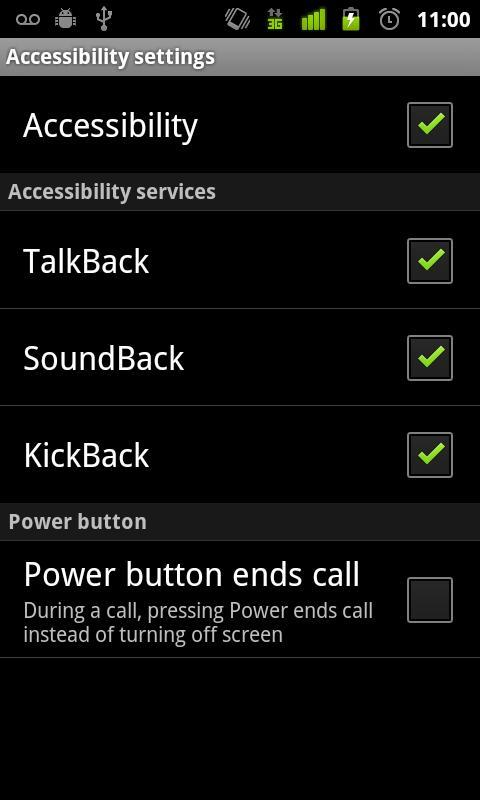 TalkBack - Imagem 2 do software