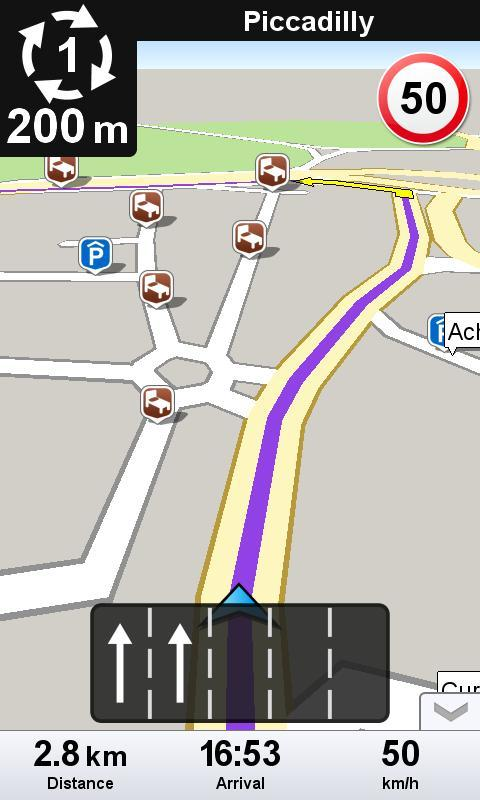 Wisepilot - Navegador GPS - Imagem 2 do software