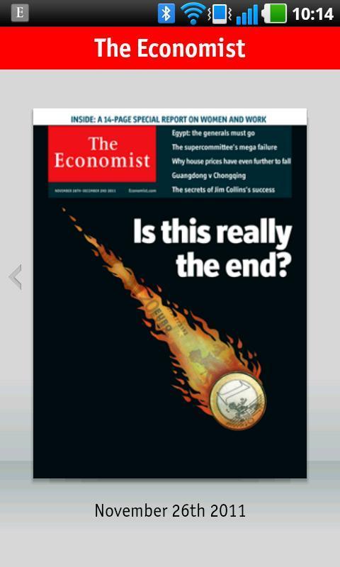 The Economist - Imagem 2 do software