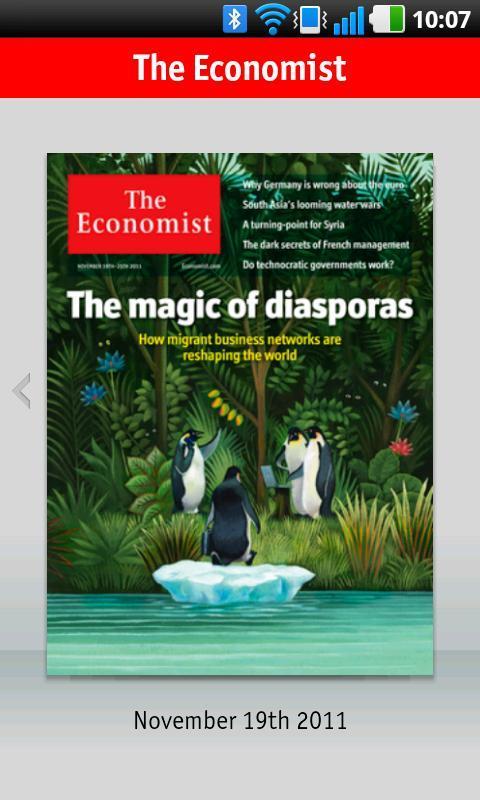 The Economist - Imagem 1 do software