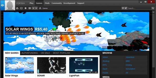 Desura - Imagem 1 do software