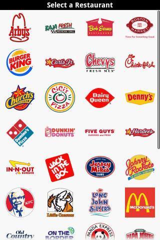 Fast Food Calorie Counter - Imagem 1 do software