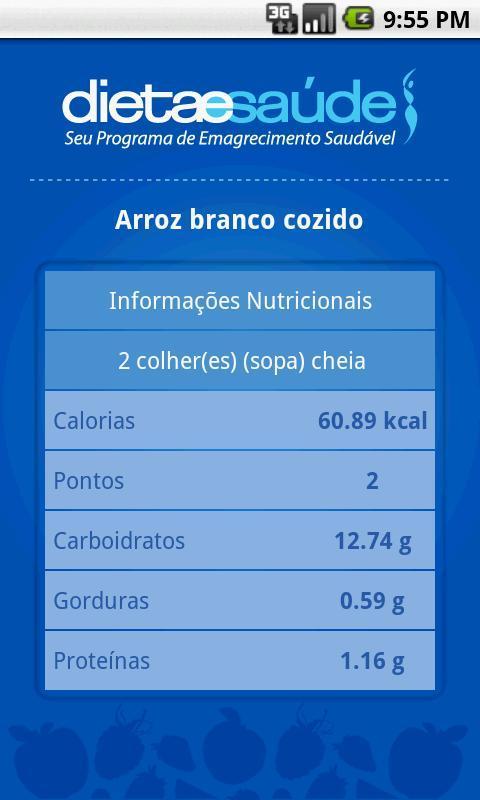 Dieta e Saúde - Imagem 4 do software