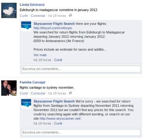 Skyscanner para Facebook - Imagem 1 do software