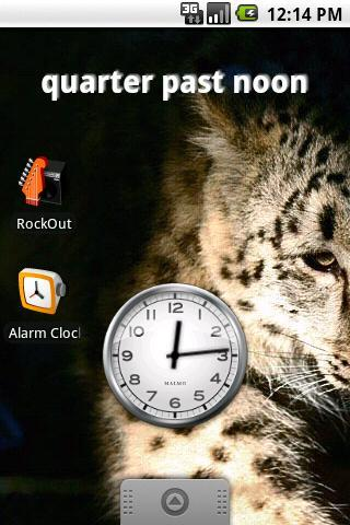 Fuzzy Clock Widget - Imagem 1 do software